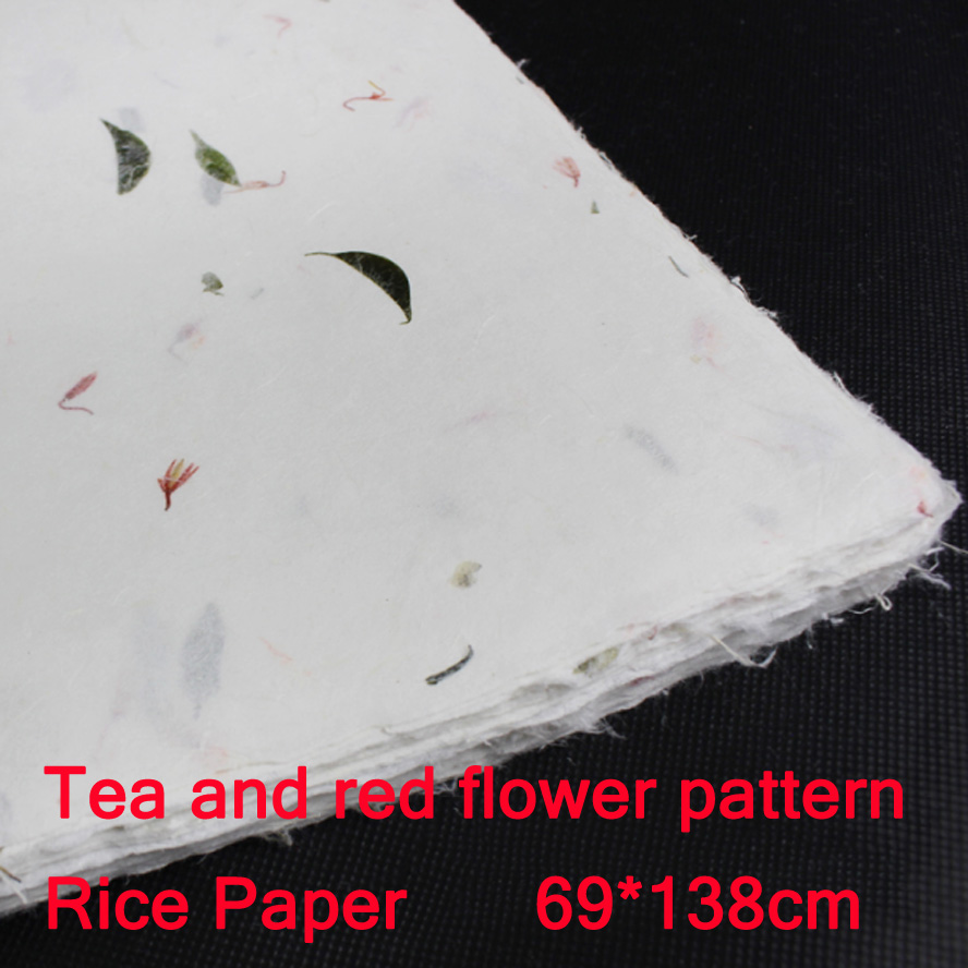 69*138cm Chinese Yunlong Rice Paper for Painting Calligraphy Art Artistic creation Drawing Xuan paper Ink Paper