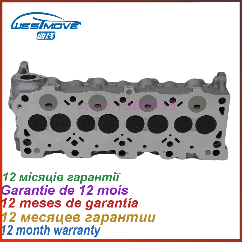 complete cylinder head assembly for Mazda 626 Suzuki Vitara 1998CC 2.0 D TD 8V 1993 97 1996   engine : RF RFCX  FS0110100J|complete cylinder head|2.0 engine|cylinder head complete - title=