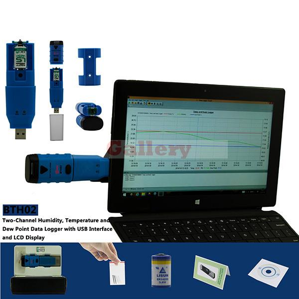 Bth02 профессиональная цифровая Портативный USB Температура регистратор данных Регистраторы termometro GPS termometro регистратор данных gps данных Logger