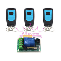 AC 220V 30A 433Mhz Wireless Remote Control Switch RF Relay Receiver For LED Lamp Smart Control