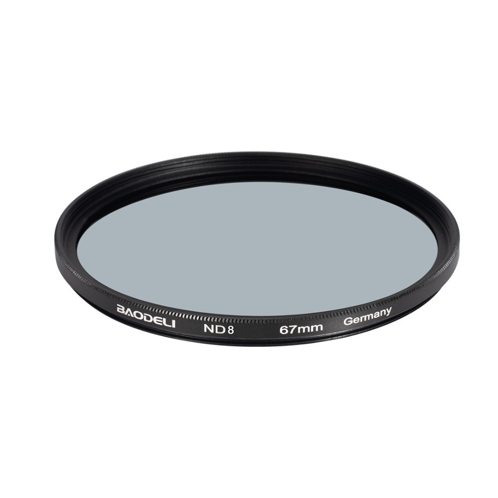 72 BAODELI Neutral Density Filtro Nd1000 64 8 Concept 49mm 52mm 55 58 62 67mm 72 77mm 82mm For Canon Nikon Sony Camera Lens Filter (4)