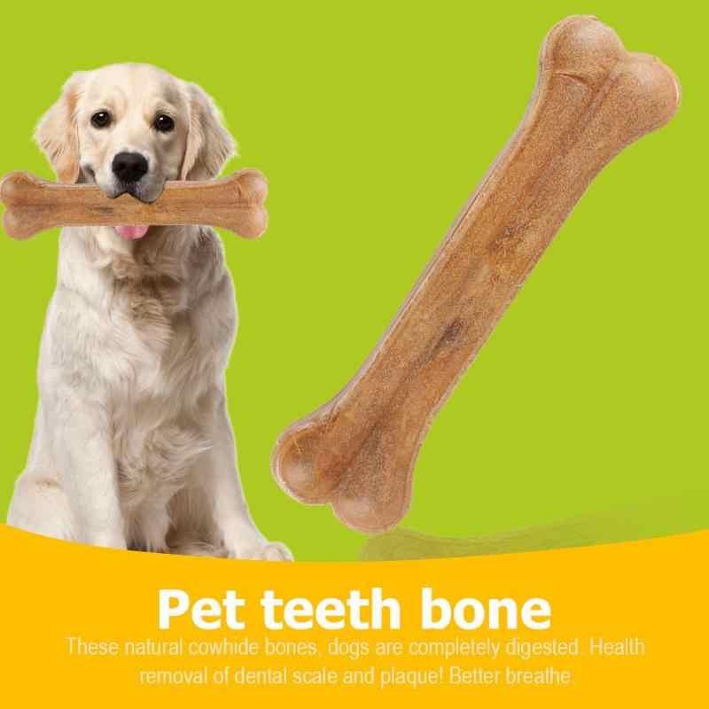 8 Inch Kompresi Rawid Tulang Anjing Anak Anjing Mengunyah Makanan