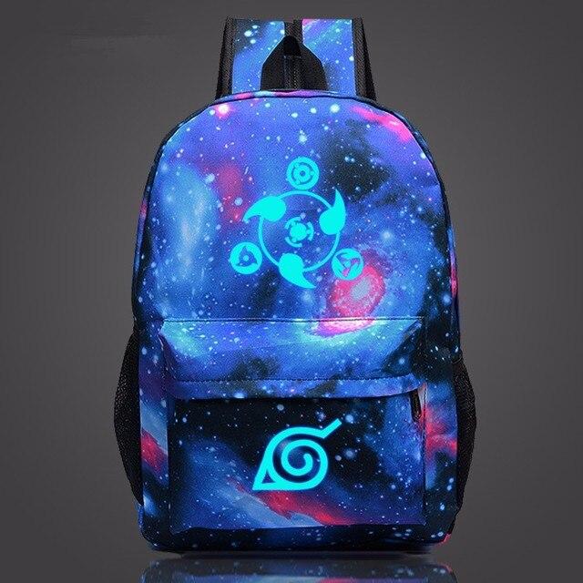 Naruto Luminous Rucksack Bag Backpack