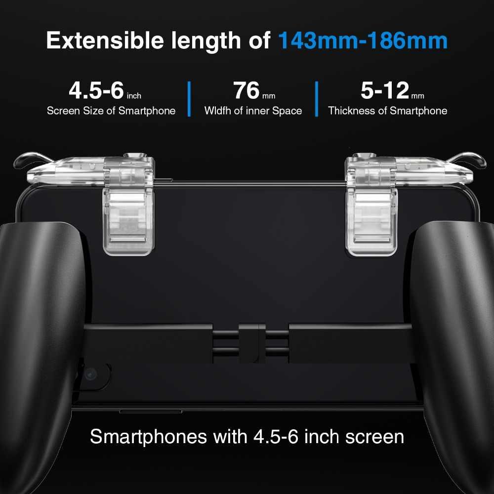 GameSir коврик F2 геймпад натворили сцепление для Android и iOS телефон игры кронштейн Pubg мобильный триггер огонь Кнопка Aim ключ