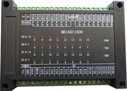 Switch Input and Output 16-way Open-in 16-way Relay Output Module RS485 MODBUS-RTU Communication