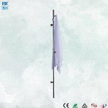 Дизайн держатель для полотенец из нержавеющей стали электрическая вешалка для полотенец с подогревом аксессуары для ванной комнаты полотенцесушитель HZ-935