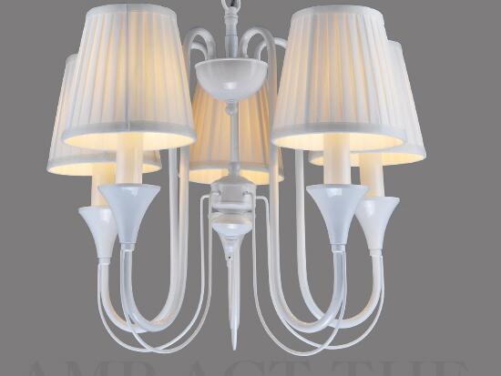 Sala da pranzo bar illuminazione multipla lampadario moda breve