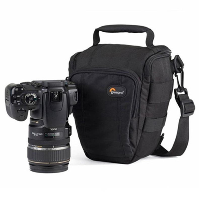 Promotion Ventes Véritable Lowepro Toploader Zoom 50 AW Haute qualité Numérique appareil photo REFLEX D'épaule sac Avec couvercle étanche