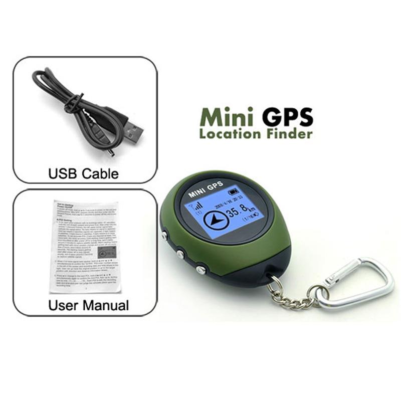 Mini GPS Tracker dispositif de suivi voyage Portable porte-clés localisateur pathfound moto véhicule Sport porte-clés de poche
