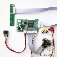 VGA 2AV Reversing Driver Board Work For 8nch 800x600 50pin AT050TN52 EJ080NA 05A EJ080NA 05B LCD