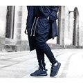 Специальная конструкция мужские мужской хип-хоп уличной jogger брюки байкер хиппи штаны Джастин бибер брюки хип-хоп нижняя