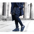 Special fashion design mens male hip hop streetwear jogger biker pants hippie sweatpants Justin bieber trousers hip-hop bottom