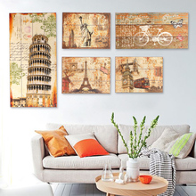 american country style paintings painted wooden wall retro storefront bar frame painting wall soft decoration pendant