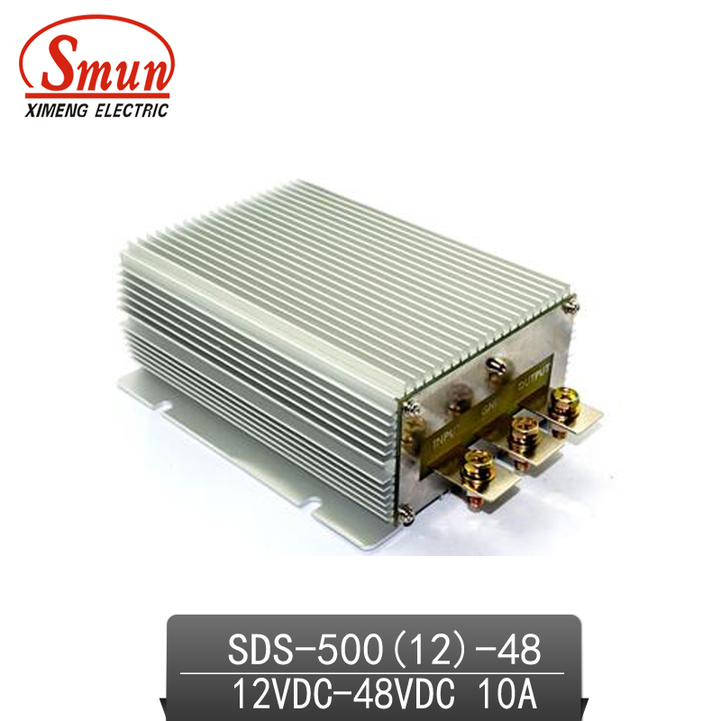 12V-48VDC 10A DC-DC Converter Car Power Supply With CE RoHS Approved ce rohs approved 150w dc to dc converter sd 150c 24 48v to 24v led power supply