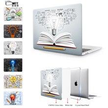 MTT For Macbook pro 13 Case A1706 Touch Bar Pro 15 A1707 Cover Air 13 air 11 Pro Retina 12 13 15 Laptop Bag Creative Bulb Case