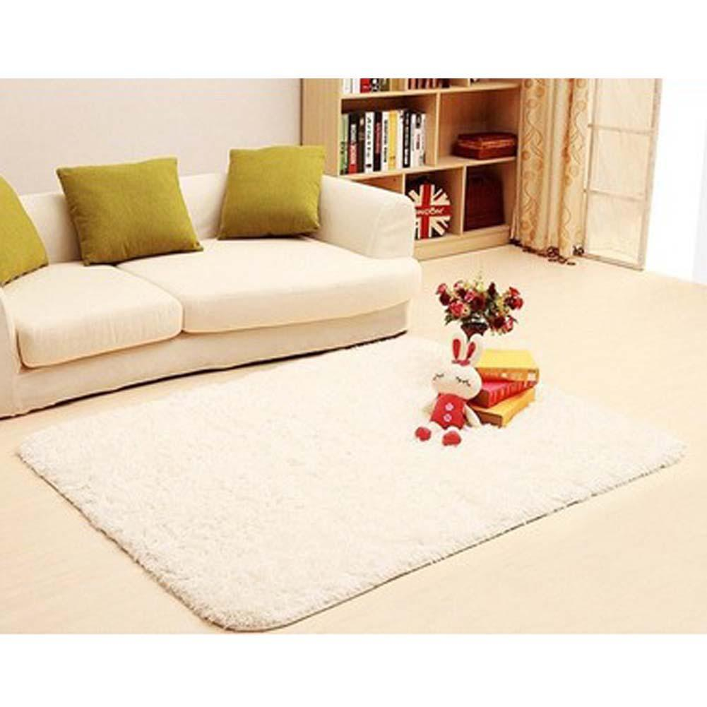 Us 9 04 30 Off 80 120cm Large Size Fluffy Rugs Anti Skid Shaggy Area Rug Dining Room Carpet Floor Mat Home Bedroom Supplies In From