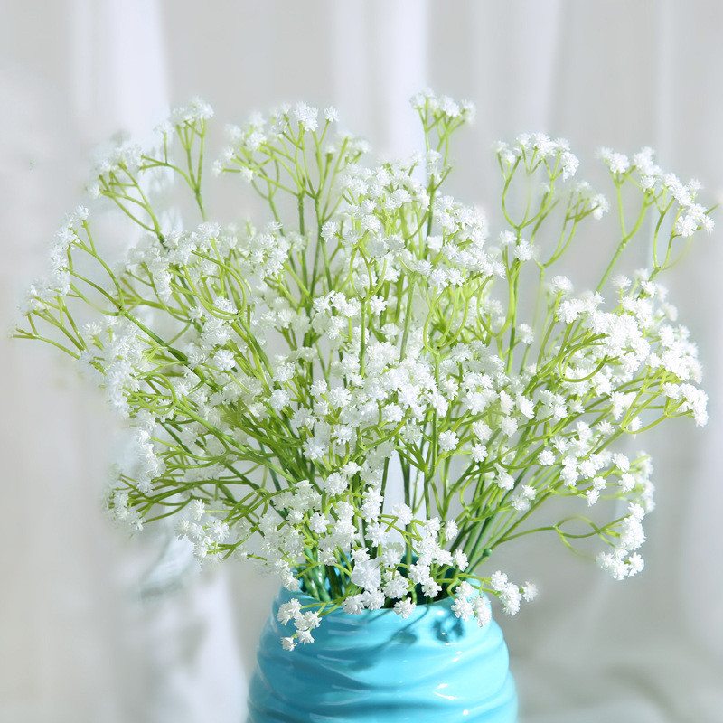 3pcs Flowers Pretty Charming Artifitial Flower Trigeminal Star ...