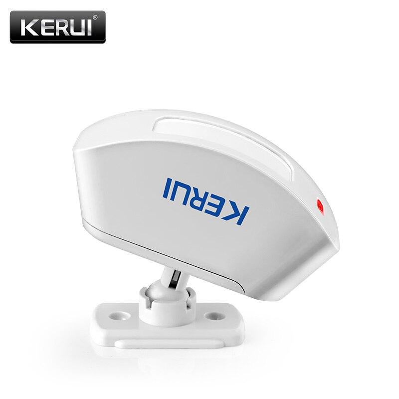 KERUI Wireless Curtain Infrared Detector Window PIR Motion Sensor 433MHz Wireless For GSM PSTN Home Security Alarm System|Sensor & Detector| |  - title=