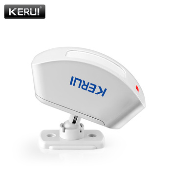 KERUI Wireless Curtain Infrared Detector Window PIR Motion Sensor 433MHz Wireless For GSM PSTN Home Security Alarm System fuers 3pcs lot 433mhz wireless pir motion sensor built in antenna infrared alarm detector for gsm pstn home alarm system