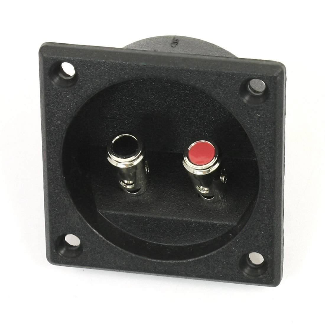 IMC Hot Square Shape Double Binding Post Type Speaker Box Terminal Cup Black
