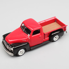 цена на 1:43 Scale Road signature vintage 1950 GMC PICKUP truck metal Diecasts Toy Vehicles Cars model Replica toys for adult collectors