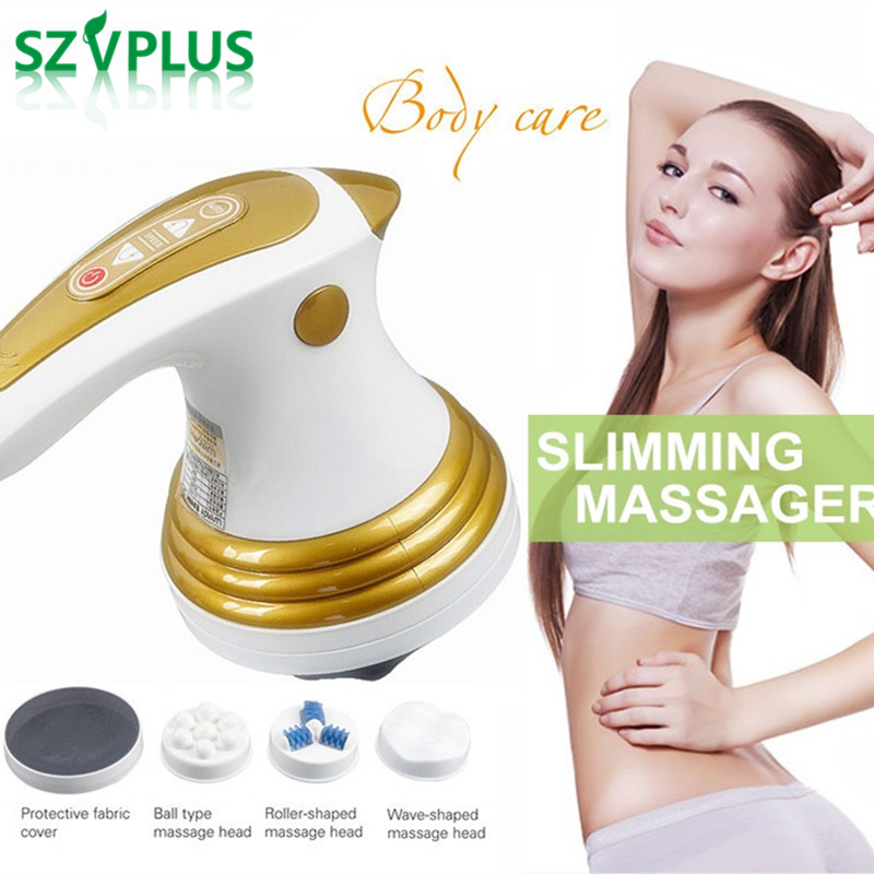Electric slimming Shaper massager Roller Anti cellulite full body vibration neck arm leg belly Loss weight fat burner machine