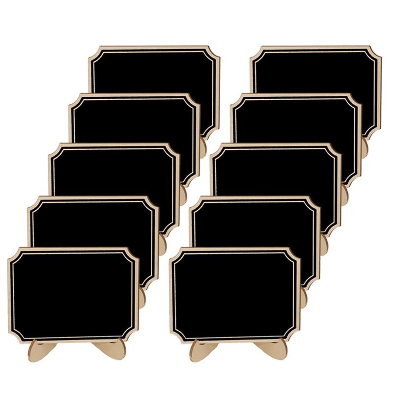 30 pçslote bonito de madeira mini quadro