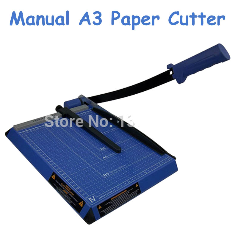 Manual A3 Paper Cutter New 18*15 15 Sheets Paper Trimmer 2017 new manual rotary paper cutter trimmer 310mm 20sheets paper cutting and perforating double function new design