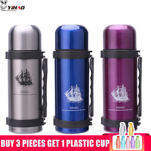 YIHAO Thermos Bottle Stainless Steel Vacuum Travel Flasks