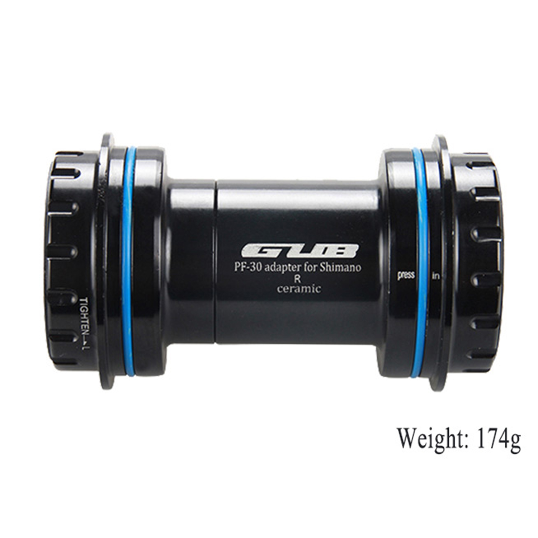 GUB PF30 Ceramic Bottom Bracket For SHIMA-NO SR-AM Bike Bicycle Axis MTB Press Fit Bottom Bracket BB Crank Set Axis