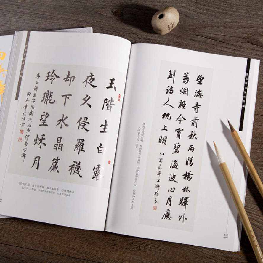 Copybook Chinese Traditional Writing Character Book Encyclopedia Of Chinese Calligraphy Famous Work