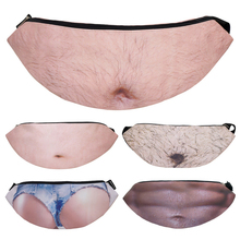 Mens belt funny bag ladies pockets bum fashion mobile phone waist cool female fanny Beer belly pack X32