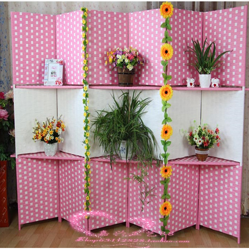 4 Pieces High Qulity Fashion Hanging Screen Wood Partition Bedroom ...