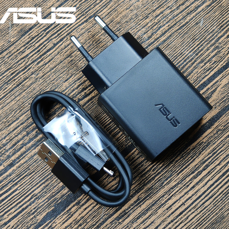 Original ASUS Charger adapter 5V 2A fast quick charge Micro <font><b>USB</b></font> Cable for ASUS Zenfone 4 selfie max pro 3 MAX Laser <font><b>2</b></font> <font><b>5</b></font> 6 AR image