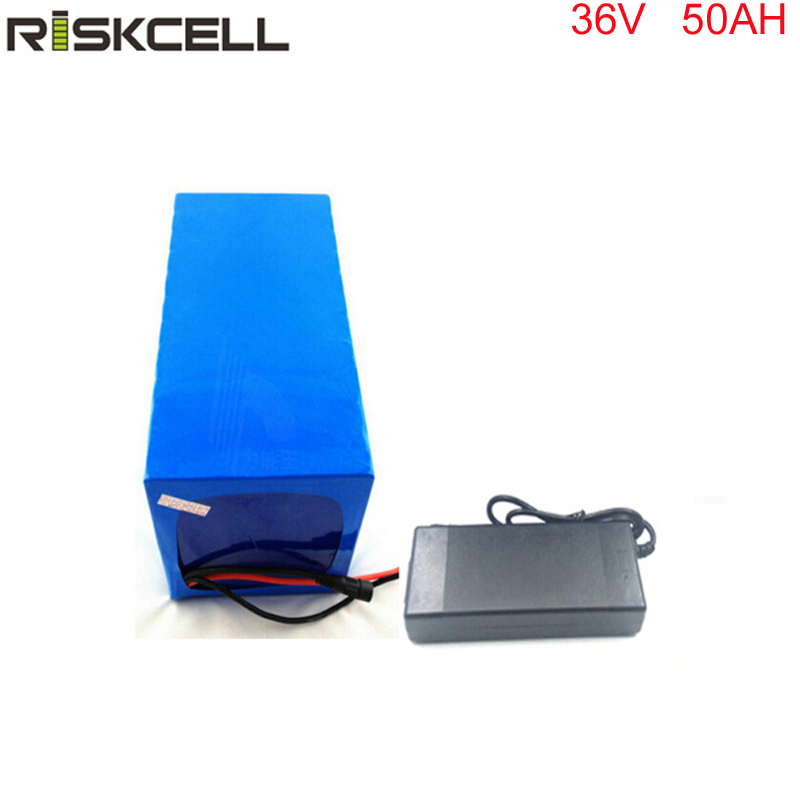 No taxes High quality 1000W 36V 50AH Electric Bicycle Battery 36V Lithium Battery 36V 50AH E-bike battery 30A BMS  charger 36v 8ah lithium ion battery 36v 8ah electric bike battery 36v 500w battery with pvc case 15a bms 42v charger free shipping