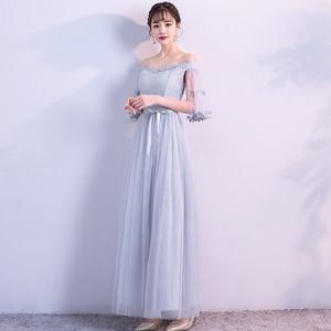 Image 4 - 2021 סקסי מסיבת חתונת שושבינה שמלות קצר פורמליות שמלת BN708