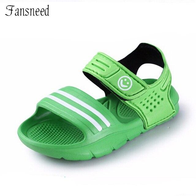 Dei bambini di estate 2019 sandali slip-resistente resistente all usura  piccolo ragazzo sandali 489b5942a59