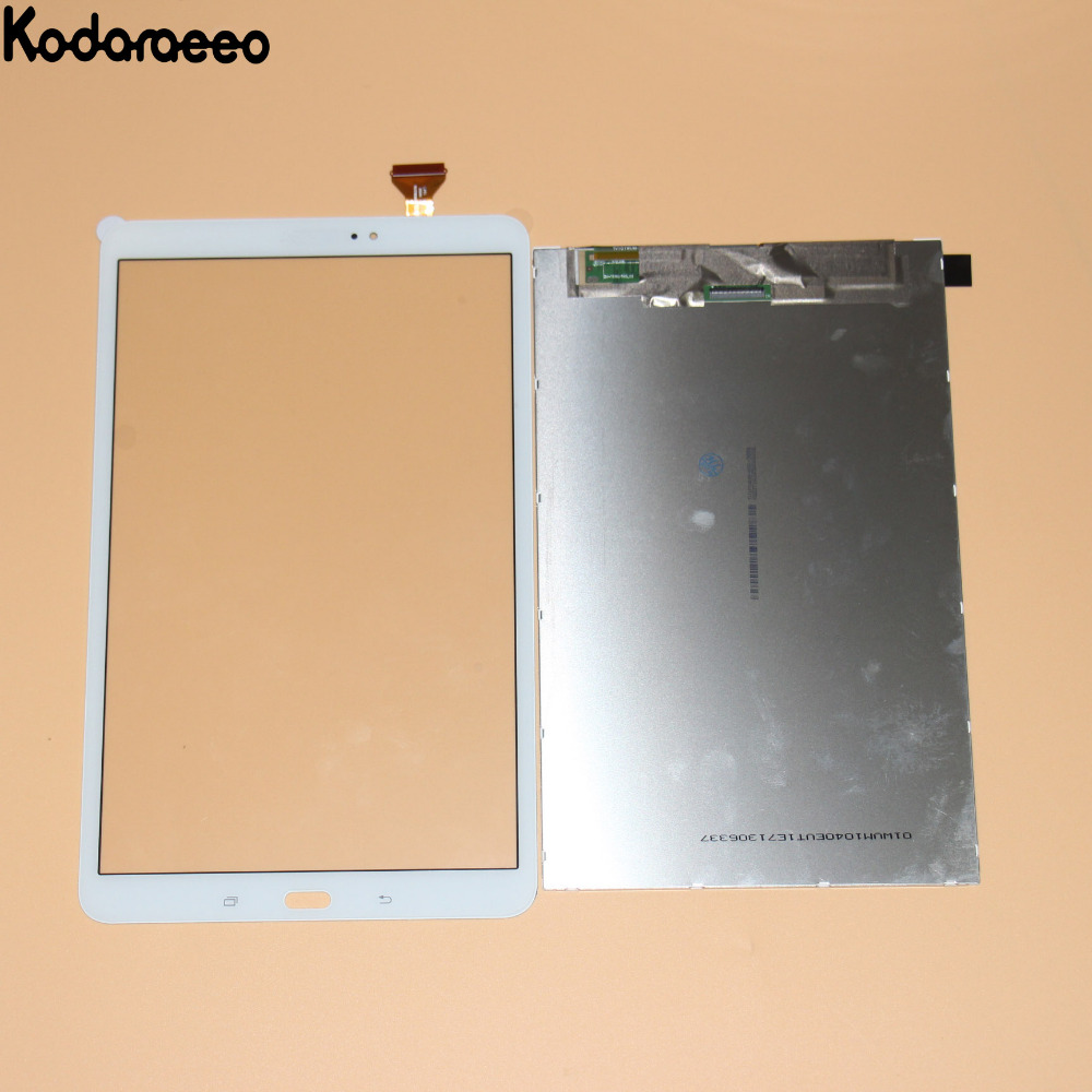 kodaraeeo For Samsung Galaxy Tab A T585 T580 Touch Screen Digitizer Glass+LCD Display Panel Replacement Parts White