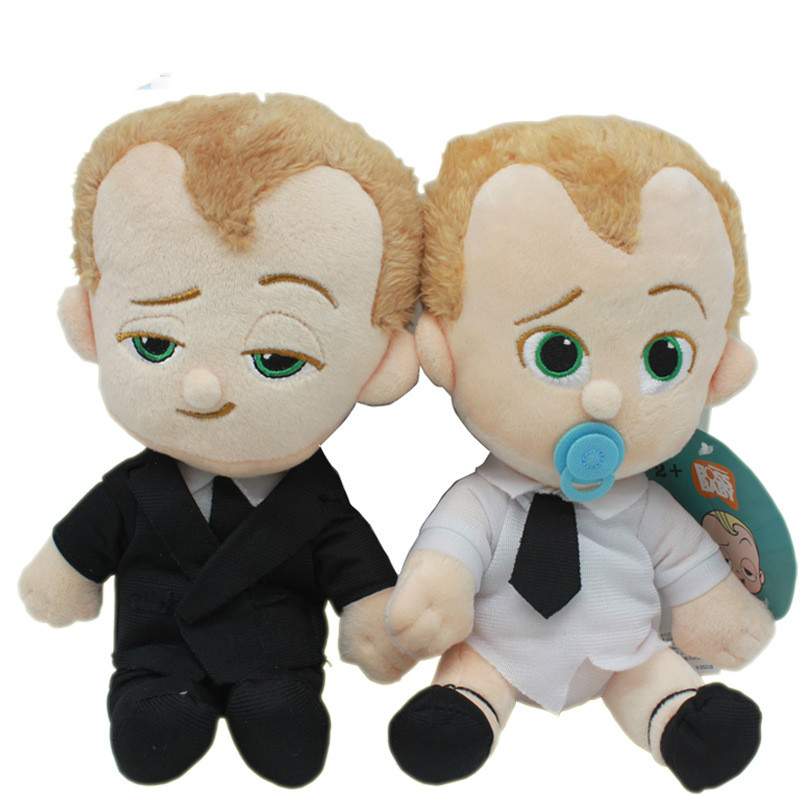 """Dreamworks Movie The Boss Baby Plush Toys Doll 8/"""" Suit Diaper Soft Kids Gifts"""
