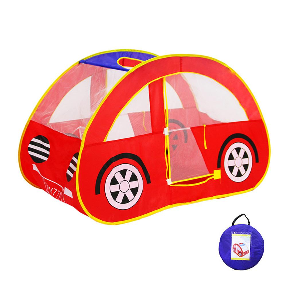 Car Play Tent Indoor Play House Outdoor Hut Children Toy Play Tent Foldable Kids Outdoor Toy Play Tent Baby Toys Tent For Kids mushroom kids play hut pink blue children toy tent baby adventure game room indoor outdoor playhouse