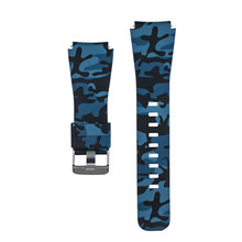 Camo Silicone Watch Band Strap for Xiaomi Huami Amazfit Pace 22mm Smart Watch Camouflage Replacement Wrist band strap bracelet(China)