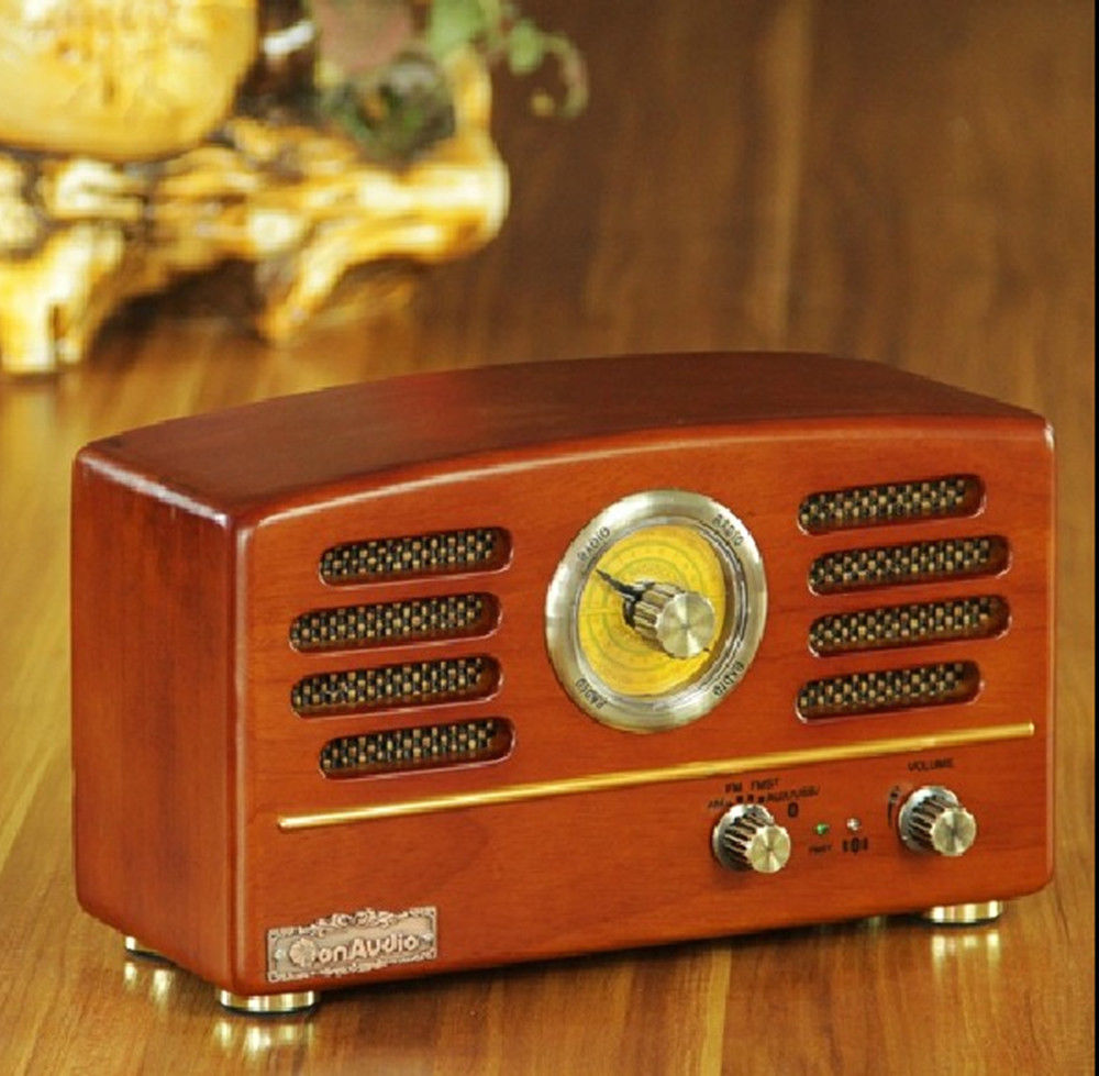 new hot top fashion vintage wood radio r202 antique cd player bluetooth usb sd mp3 mmc antique. Black Bedroom Furniture Sets. Home Design Ideas