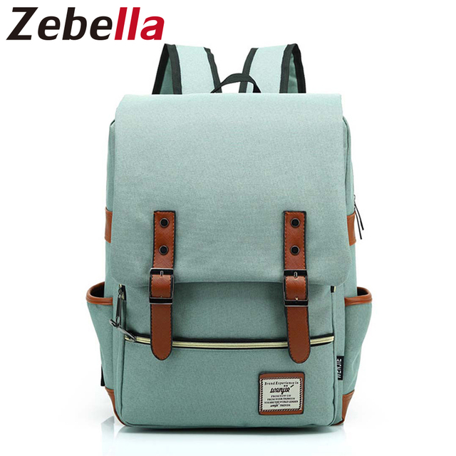 6adea776de Zebella Fashionable Trendy Backpack Female Students Laptop Backpack Women  Rucksack Casual School Bag For Teenage Bolsa