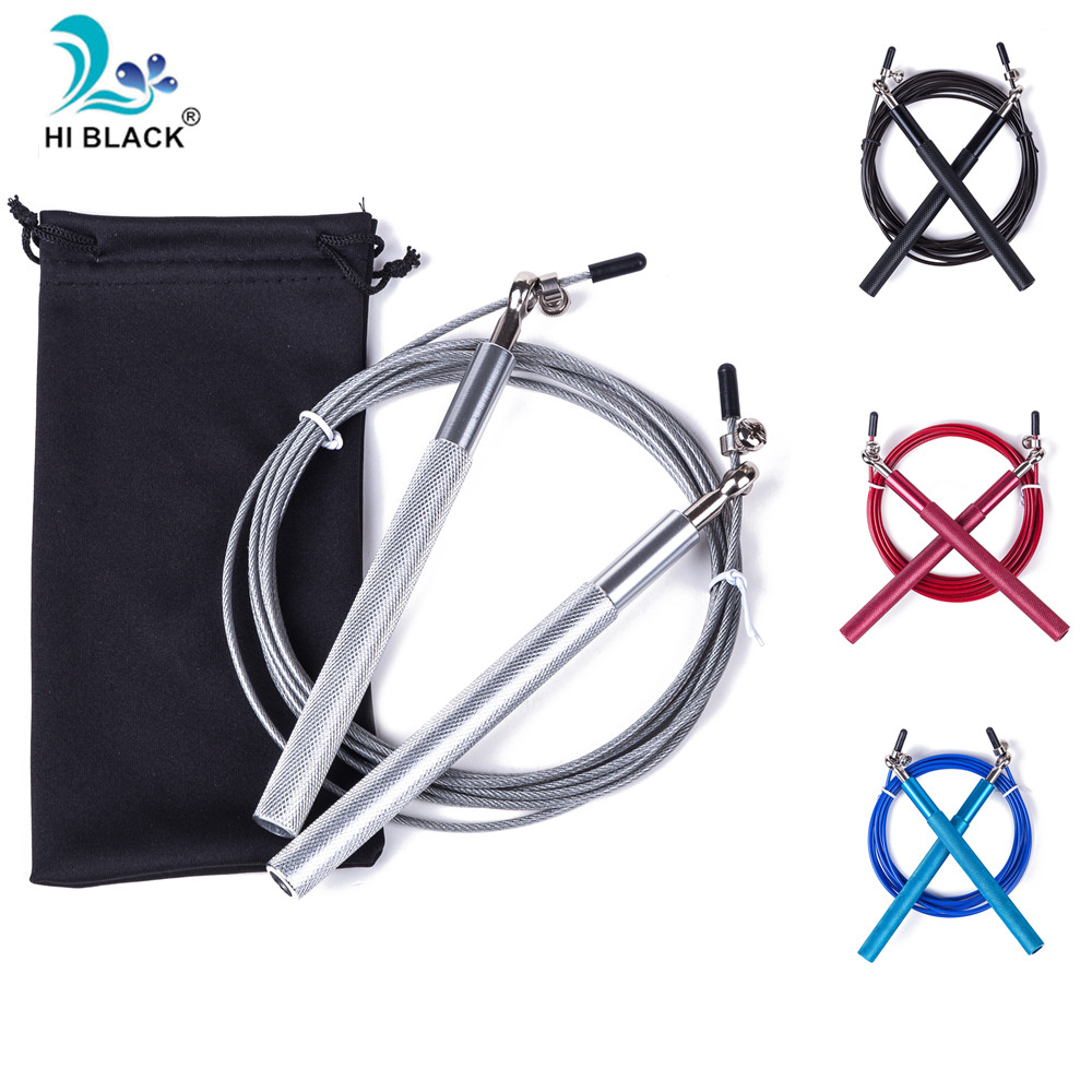 Speed Jump Rope Adjustable Skipping Ropes Best For Fitness Boxing MMA Training Metal Ball Bearings Crossfit Aluminum Rope