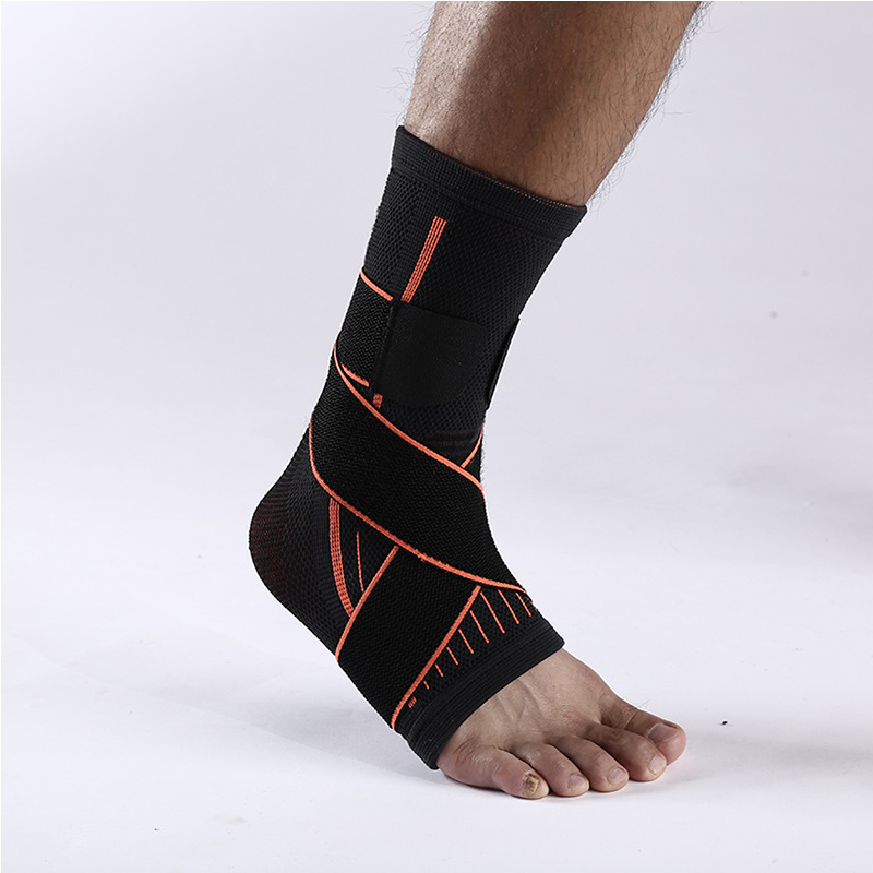 Elastic Foot Support Durable Nylon Ankle Support With Band Professional Foot Ankle Safety For Yoga Hiking Sports Outdoor Safety