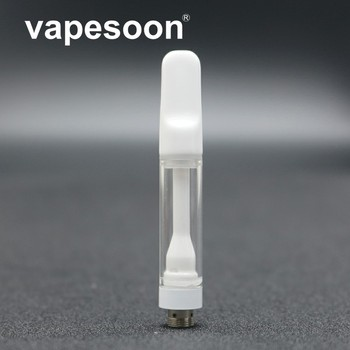 5pcs Vapesoon CBDCC Cartridge Clearomizer Atomizer 1ml Oil Tank Ceramic Coil For 510 510 Box mod Vape Vaporizer Pen Box Mod image