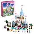 SY325 Amigos Princesa Cenicienta de Romántico Castillo Bloques Huecos de Bloques de construcción de Ladrillos de Juguetes para los niños Juguetes de Niña Lepin Bela