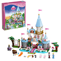 SY325 Friends Princess Cinderella's Romantic Castle building Blocks Bricks Toys for children Toys Girl Decool Lepin Bela