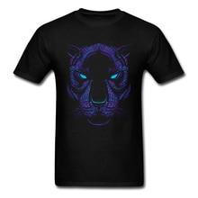 Aztec Neon Panther Crewneck T Shirts April FOOL DAY Geek Top