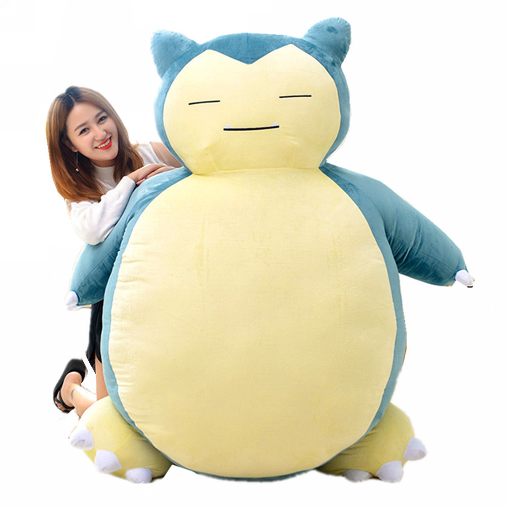 Fancytrader 59 Giant Stuffed Snorlax Plush Anime Soft Animal Doll Pillow Bed Best Gift Can Buy Skin Cover Only FT50788Fancytrader 59 Giant Stuffed Snorlax Plush Anime Soft Animal Doll Pillow Bed Best Gift Can Buy Skin Cover Only FT50788